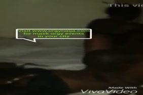 فيديو لزبار واقفة فى البنطلون